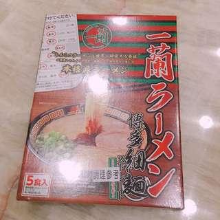ㄧ蘭拉麵 五食入