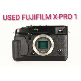 USED FUJIFILM X-PRO 1 MIRRORLESS CAMERA BODY