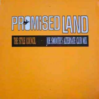 """arth12 THE STYLE COUNCIL (PAUL WELLER) Promised Land 12"""" Inch Single"""