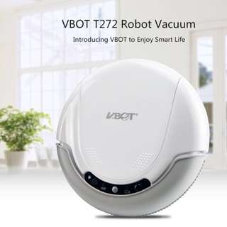 VBOT T272 Robot Vacuum Cleaner, 3-in-1 Automatic Cleaning Robot with Remote Control (Free Gifts!)
