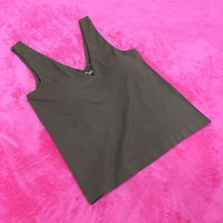 Free Shipping !! Size M Valley Girl Nylon Padded V Shaped Tank Tops