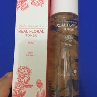NATURAL PACIFIC REAL ROSE FLOWER TONER
