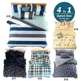 CLASSIC QUEEN BEDSHEET 4IN1