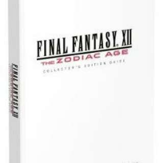 Wtb Final Fantasy 12 zodiac age guidebook