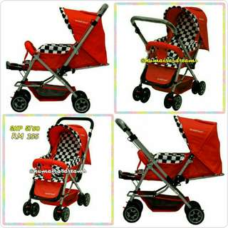 SWEET HEART PARIS STROLLER