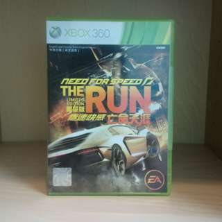 NFS Need For Speed The Run Xbox 360