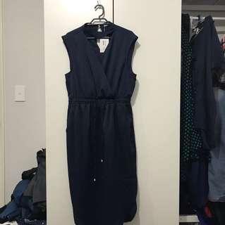 NEW Valley girl Navy dress