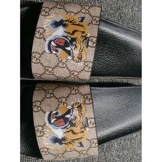 Gucci Tiger Slides