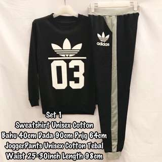 sweatshirt with joggerpants