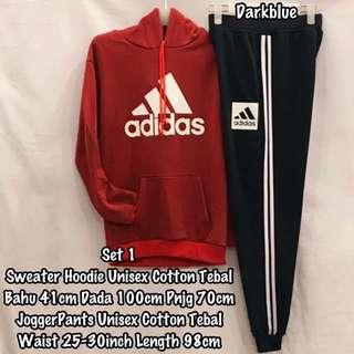 sweatshirt and joggerpants