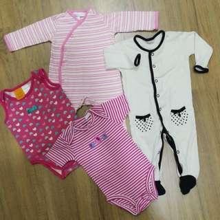 Baby Combo 4pcs (3-6m)