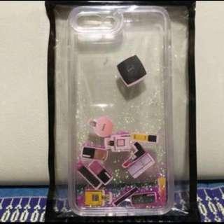 Iphone7plus/8plus case(彷Chanel化妝品+閃粉紅色)💄📱✨全新📮包郵