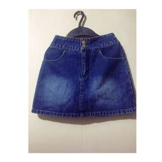 Big&Small Denim skirt