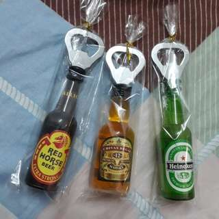 Mini magnetic bottle opener