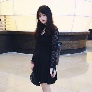 Lace Dress (black)