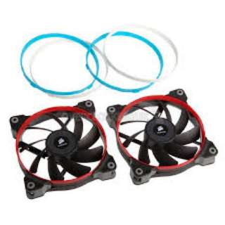 Selling corsair af120 and sp140