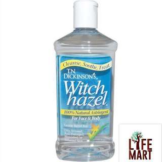 💥SALE⚡️*FREE MAIL* Dickinson Brands, Witch Hazel Toner, For Face & Body