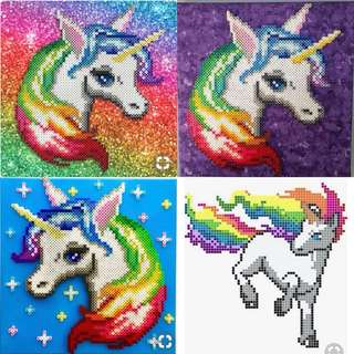 UNICORNS HAMA BEAD DESIGNS