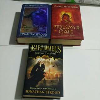 Hardcover Bartimaeus Trilogy jonathan stroud