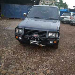 Bumper tanduk panter model arb