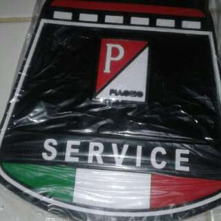 [Clearstock] vespa service mudflap