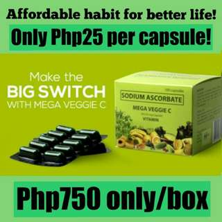 ❤ Mega Veggie C  Free Shipping within Metro Manila!