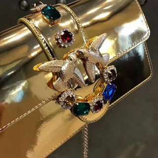 Pinko 金色 Chain Bag