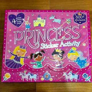 Princess Sticker Activity Books