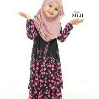 Baju Kurung Melyna (Budak)