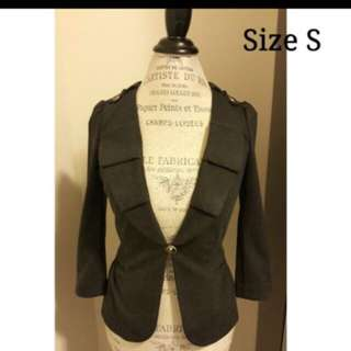 Juicy Couture Gray Jacket- Size S