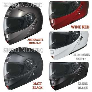 *PSB APPROVED SHOEI NEOTEC MODULAR HELMET..!!