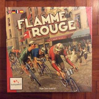 Flamme Rouge board game