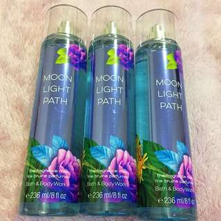 Authentic B&BW Fine Fragrance Mist - Moonlight Path - From 🇨🇦