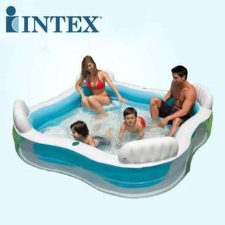 Intex Square Shape Family Inflatable Swimming Pool