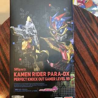 日版 魂限定 幪面超人 shf  ex-aid para  dx perfect knock out gamer level 99