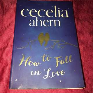 Rp$28-How to Fall in Love by Cecelia Ahern #idotrades