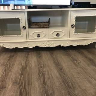 French provincial tv unit
