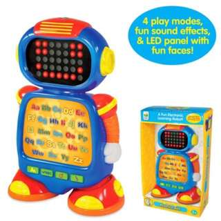 PO The Learning Journey Touch & Learn, Phonics Bot