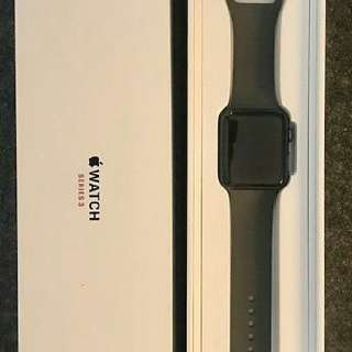 Apple watch series 3 42mm space gray (CELLULAR + GPS)