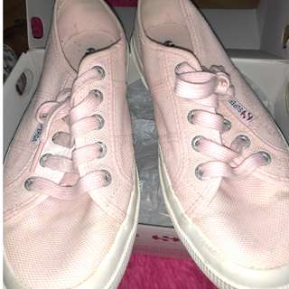 Superga Cotu Classic in Pastel Pink US7.5
