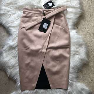 Missguided Suede Skirt