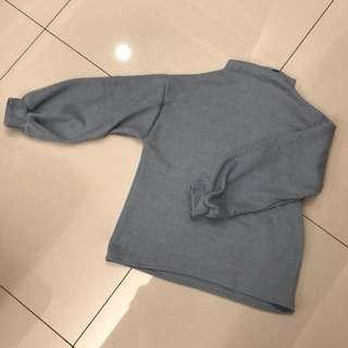 軟綿綿babyblue針織毛衣