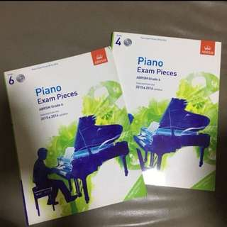 ABRSM PIANO exam pieces with cd 2015-2016