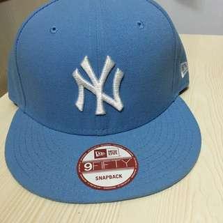 New Era Yankees sky blue cap
