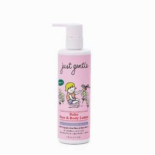 Baby face & body lotion from Just Gentle