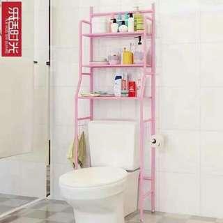 TOILET SHELF (pink)