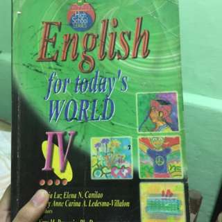 English for Today's World IV