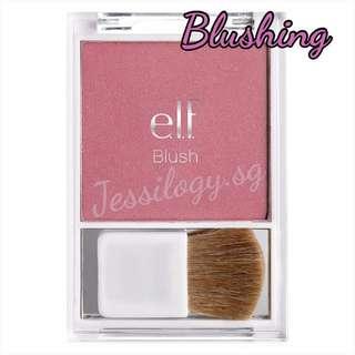 INSTOCK ELF Blush With Brush in BLUSHING / ELF Cosmetics / e.l.f. Essential Blush with Brush - BLUSHING