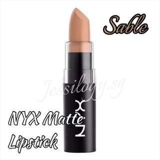 INSTOCK NYX Matte Lipstick In SABLE / NYX Cosmetics / NYX Matte Lipstick in MLS29 SABLE