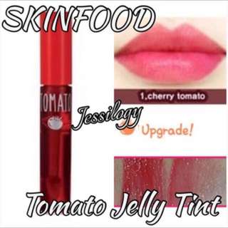 INSTOCK Skin Food Tomato Cool Jelly Tint / Skinfood Jelly Tint / Skinfood Tomato Tint In 01 - Cherry Tint